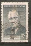 Sellos de America - Argentina -  FRANKLIN   D.   ROOSEVELT