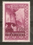 Stamps Argentina -  SÌMBOLO   DE   COMUNICACIONES