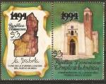 Stamps America - Dominican Republic -  PRIMERA   IGLESIA   EN   EL   NUEVO   MUNDO
