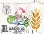 Stamps Spain -  Día mundial de la alimentación    (A)
