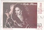 Stamps Spain -  personajes populares  -Lola Flores   (A)