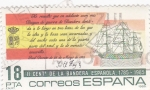 Stamps Spain -  II centº de la bandera española 1785-1985      (A)