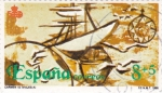 Sellos de Europa - España -  Carabelas   (A)