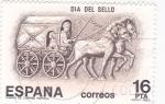 Stamps Spain -  Día del sello   (A)