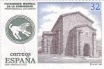 Stamps Spain -  Santa Cristina de Lena-prerromanico asturiano    (A)