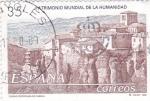 Sellos de Europa - España -  Ciudad fortificada de Cuenca    (A)