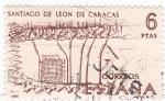 Sellos de Europa - España -  Santiago de León de Caracas   (A)