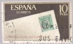 Sellos de Europa - España -  Día mundial del sello 1966      (A)
