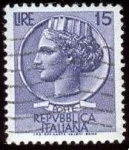 Stamps : Europe : Italy :  Coin of Syracuse