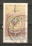 Stamps Chile -  ANIVERSARIO   DE   LA   INVESTIGACIÒN   CHILENA