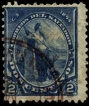 Stamps America - El Salvador -  Libertad. 1894.