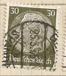 Stamps Germany -  Presidente Hindenburg