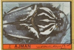 Stamps United Arab Emirates -  Insectos