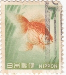 Stamps : Asia : Japan :  pez tropical