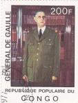 Stamps Democratic Republic of the Congo -  General de Gaulle