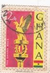 Sellos de Africa - Ghana -  The Ghana Mace