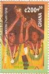 Stamps Ghana -  Ghana Campeones de Futfol copa africana