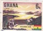 Sellos de Africa - Ghana -  Akosombo Dam