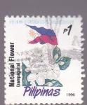 Sellos del Mundo : Asia : Filipinas : Flores nacionales