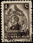 Stamps Guatemala -  José Batres Montufar.