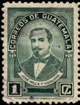 Stamps America - Guatemala -  José Milla y Vidaurre.
