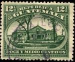 Stamps America - Guatemala -  Palacio Centenario de la Independencia.