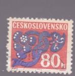 Sellos del Mundo : Europa : Checoslovaquia : ilustraciones
