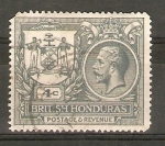 Stamps Belize -  ESCUDO   COLONIAL   Y   GEORGE   V