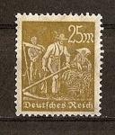 Sellos de Europa - Alemania -  Republica de Weimar / Agricultores.