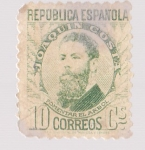 Stamps Europe - Spain -  República Española - Joaquin Costa