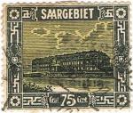 Sellos de Europa - Francia -  SAARGEBIET