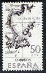 Sellos de Europa - España -  1820- Forjadores de América. Costa de Nutka.