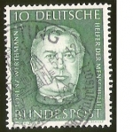 Stamps Germany -  LORENZ WERTHMANN - DEUTSCHE BUNDESPOST