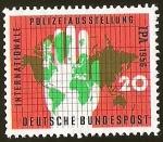 Sellos de Europa - Alemania -  POLIZEIAUSSTELLUNG IPA - DEUTSCHE BUNDESPOST