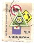 Stamps : America : Argentina :  Direccion Nacional de Validad