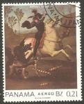 Sellos de America - Panamá -  Cuadro de Raphael Sanzio