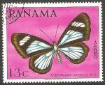 sello : America : Panamá : 451 - Mariposa Tmetoglene Drymo S & G.