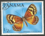 sello : America : Panamá : 471 - Mariposa Apodemia Albinus Feld.