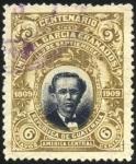 Sellos del Mundo : America : Guatemala : Centenario nacimiento de Miguel García Granados.