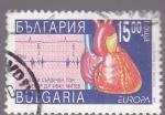 Sellos de Europa - Bulgaria -  electrocardiograma