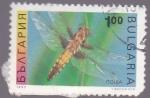 Sellos de Europa - Bulgaria -  insectos- libélula