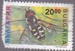 Sellos de Europa - Bulgaria -  insectos- abeja
