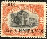 Sellos del Mundo : America : Guatemala : Instituto para indígenas.  UPU 1902. Sobreimp 1913