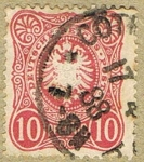 Stamps Germany -  DEUTCHES REICH POST