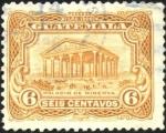 Sellos del Mundo : America : Guatemala : Palacio de minerva.  UPU 1926.