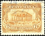 Stamps Guatemala -  Palacio de minerva.  UPU 1926.