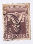 Sellos de America - Argentina -  Congreso Nacional de productividad y bienestar social
