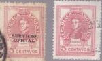 Stamps America - Argentina -  Republica Argentina - General Jose de San Martin