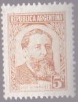 Stamps America - Argentina -  Republica Argentina - Jose Hernandez