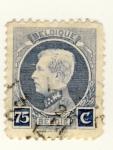 Sellos de Europa - Bélgica -  Rey Aberto I Ed 1921